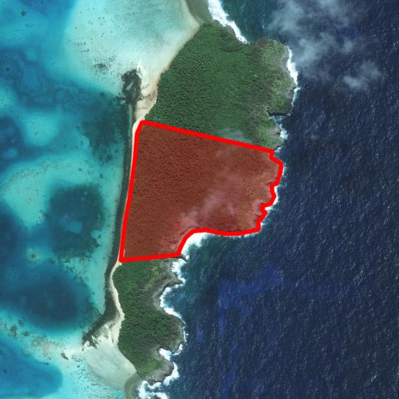Kenutu island, Vava'u Tonga